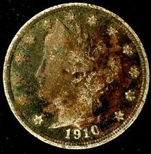 1910-P 5C Liberty Head Nickel 20rr0521 70 Cents Shipping