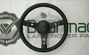 Land Rover Defender 90, 110, 14 inch Steering Wheel With 48 Spline adapter 149