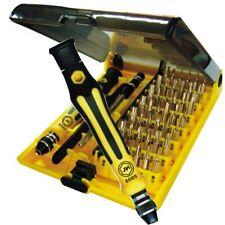6089C] 45in1 Feinmechanik Schraubenzieher Satz Uhrmacher Set Torx Mini Bit Handy