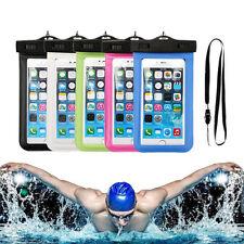 Lot 10 housses,pochette,étuis, étanche waterproof pour plage et piscine