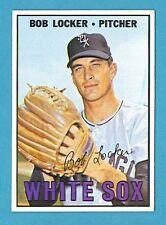 1967 Topps Baseball Card #338 Bob Locker (Chicago White Sox) EX AJ00490
