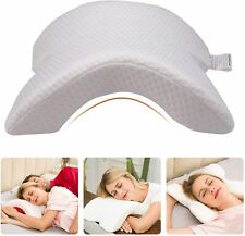 U Shape Memory Foam Neck Pillow Tunnel Shaped Sleep Arm Cuddling Office Reading