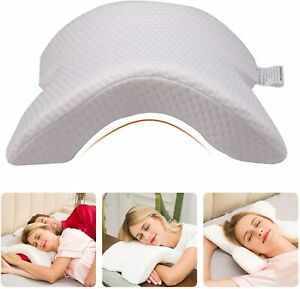 U Shape Memory Foam Neck Pillow Tunnel Shaped Sleep Arm Cuddling Office Reading