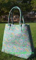 Mandala Tote Bag Cotton Women Block Printed Handbag Indian Satchel Purse Lady