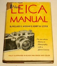 NEW LEICA MANUAL--BY MORGAN AND LESTER--COLLECTIBLE