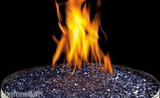 Gas Fireplace Blue Glass Ember Media Kit MKGB New