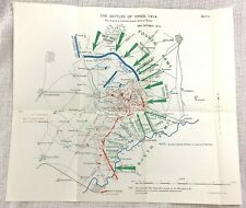 More details for the battle of ypres ww1 1914 british military map line of attack western front