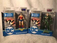 "NEW 2020 DC Heroes Unite 4"" 1st Edition - LEX LUTHER & WONDER WOMAN RARE VHTF"