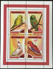 Corea 2000 ** pájaros/Birds loros-Parrots post frescos mnh