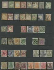 GERMANY--Collection of 43 Early Stamps Cat. Value $1,275.35