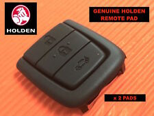 Genuine HOLDEN Commodore Key Remote 3 Button Rubber Pad x 2 (Twin Pack)FREE POST