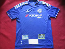 CHELSEA PEDRO RODRIGUEZ HAND SIGNED HOME 2015/16 SHIRT- LARGE- BNWT -PHOTO PROOF