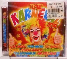 I Love Karneval + 2 CD Party Album mit 40 Fetenhits und Stimmungsgarantie + 2014