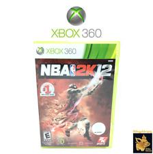 NBA 2K12 Michael Jordan  (2011)  Xbox 360 Disc Case Manual Disc Tested Works A+
