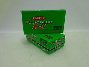 NOS Vintage 2 Fuji Fim Fujicolor F-II 126 Cartridge Film Expier Date OCT 1978 Se