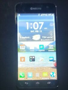 Kyocera Hydro Vibe Virgin Mobile- Black Model  # C6725 Android 4.4.2 (Rooted)
