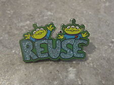 DISNEY STORE EUROPE UK PIN EARTH DAY ALIENS LGM REUSE TOY STORY