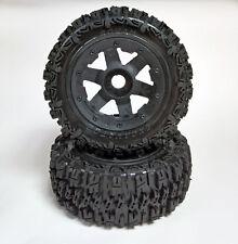 Rovan 5T SC LT Wheel Tyre Set Excavator Trencher 195x75mm (2) fit HPI KM Losi