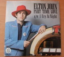 Elton John - Part-Time Love 7 inch Pic Sleeve  (1978)
