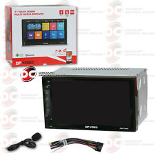 """BRAND NEW CAR 2DIN 7"""" TOUCHSCREEN IN-DASH AUDIO MULTIMEDIA STEREO USB BLUETOOTH"""