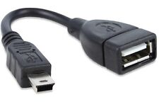 Usb 2.0 Hembra A Mini Usb B Macho Adaptador fecha Cable De Regalo
