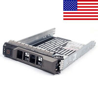 "3.5"" SAS SATA Hard Drive Tray Caddy For Dell PowerEdge R710 Server With Screws"