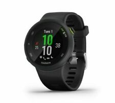 New Garmin Forerunner 45 Black Band Activity GPS Smartwatch 010-02156-05 + More