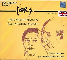 MEHDI HASSAN & SHOBHA GURTU - TARZ - NEW ORIGINAL SOUNDTRACK CD - FREE UK POST