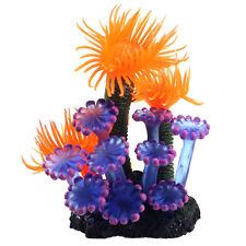 Decorazione acquario CORALLO fluttuante resina e silicone ornamento vasca pesci