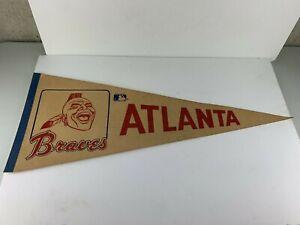 "Vintage 29"" Pennant Atlanta Braves Baseball MLB"