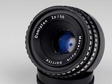 DOMIPLAN 2.8/50 objectif M42 Meyer Optik-Görlitz ZEBRA
