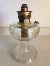 Antique Aladdin Nu-Type Model B Glass Bee Hive Oil Lamp