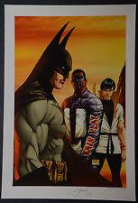Batman Michael Turner Aspen Art Print JLA