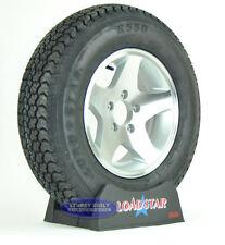 (2) Kenda Loadstar Trailer Tires ST 205/75D14 LRC Aluminum 5 Star Rims 5 Lug