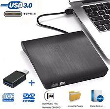 Grabadora DVD Externa, iAmotus Unidades CD/DVD Externas USB 3.0 Lector