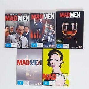 Mad Men Seasons 1 + 2 + 3 + 5 + 6 DVD TV Series Free Post Region 4 AUS