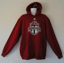 RARE~Adidas TORONTO FC Canada 9OZ FLEECE Hoody jersey soccer Sweat shirt~Mens XL