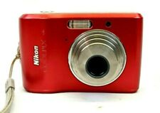 Nikon Coolpix L18 Digital Camera 5.7-17.01mm 1:28-4.7 Lens Red (Tested Works)