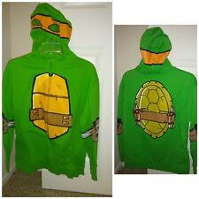 Fun ninja turtle hoodie with eye cutouts so you look like the turtle. Great...