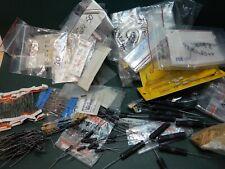 Huge Lot Of Resistors And Power Resistors Shown