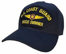 Coast Guard Rescue Swimmer Hat Blue Ball Cap SAR USCG Coast Guard Veteran