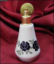 1940s VINTAGE PORCELAIN PERFUME BOTTLE WITH ATOMIZER