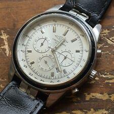Vintage UMBRO CHRONOGRAPH 100 Metres Wrist Watch Stainless Steel