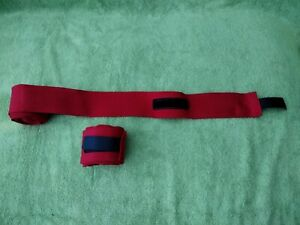 Boxing Hand Wraps Red, unbranded NEW