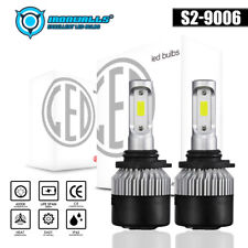 IRONWALLS 9006 HB4 LED Fog Light Bulb for Dodge RAM 1500 2500 3500 2013-2017 COB