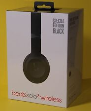 SOLO 3 SPECIAL EDITION Beats by Dr. Dre  Solo3 Wireless Headphones Black NEW