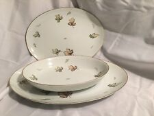 Harmony House West Wind Serving Platters & Oval Vegetable Dish