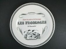"""GIEN GASTRONOMIE CHEESE PLATE - 6 1/2""""   """"Le Camembert""""  1308E"""