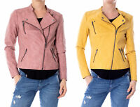 Only Giacchetto donna ava faux leather biker otw noos 15102997