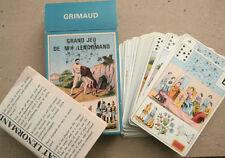 GRAND JEU DE M.LLE LENORMAND 54 CARTE GRIMAUD cartomanzia tarocchi - P3
